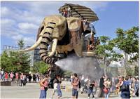 The elephant, l'Ile de Nantes